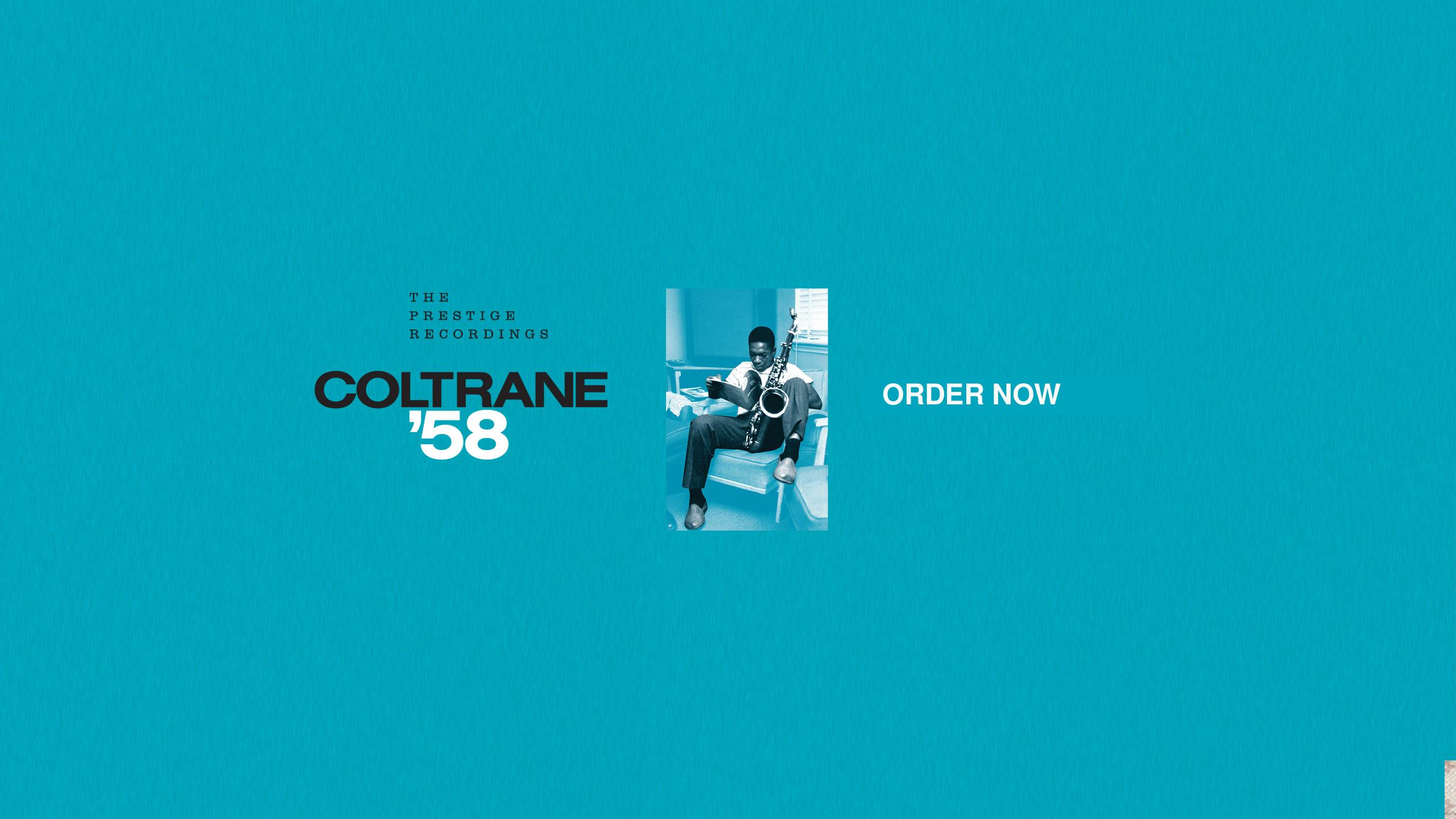 Coltrane 58 The Prestige Recordings
